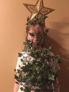 Tape the Second Garland Onto Face