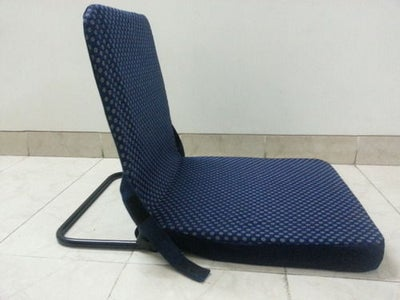 Metal Folding and Adjustable Chair Frame for Meditation