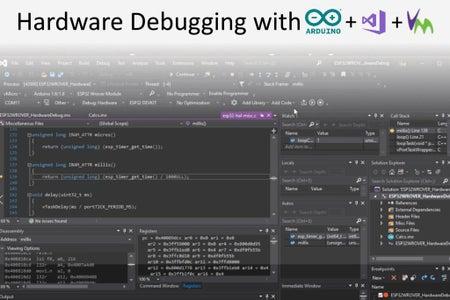 Arduino GDB Debug ESP32
