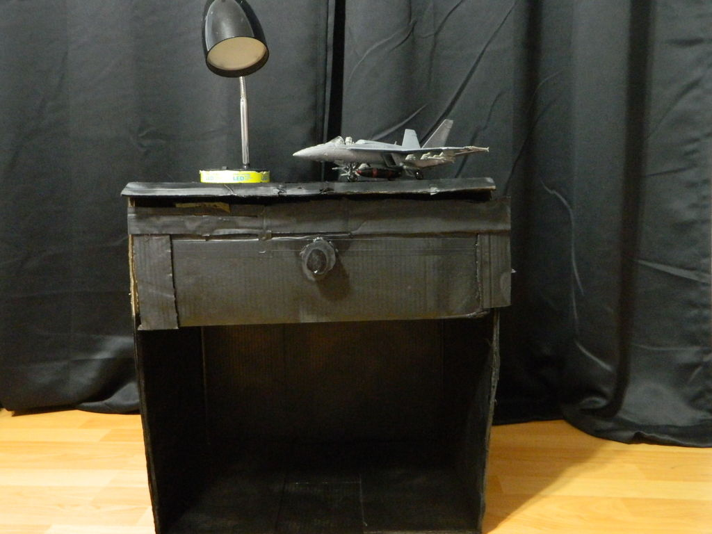 Picture of DIY Cardboard Nightstand