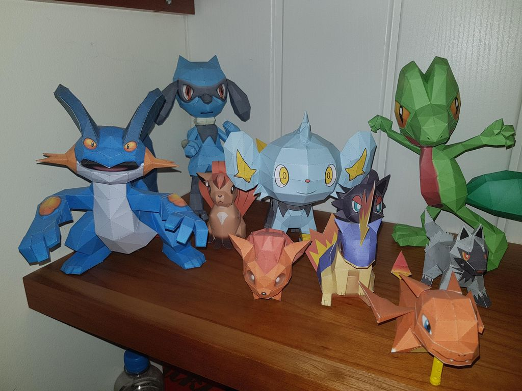 Picture of POKEMON PAPER CRAFT