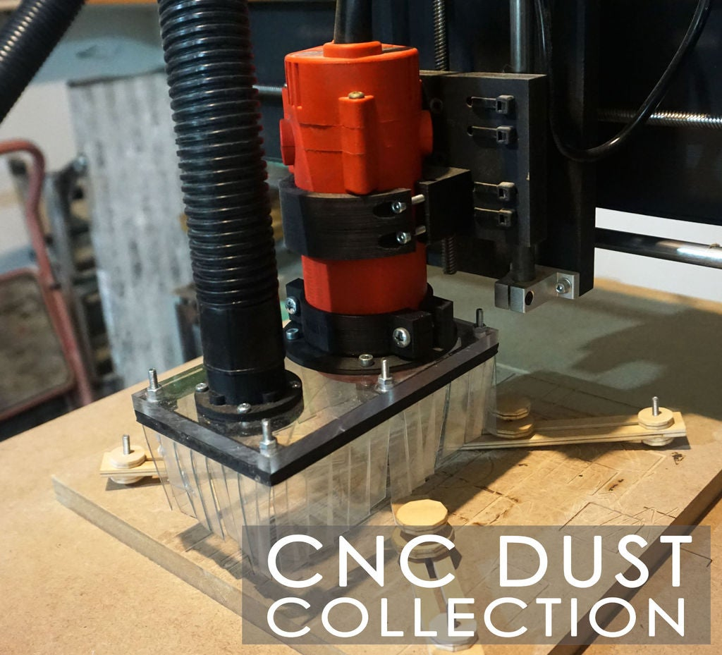 Picture of CNC Dust Collection / 3D Printed