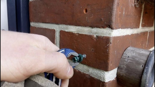 Remove Wall Anchors, Loose Dirt and Dust
