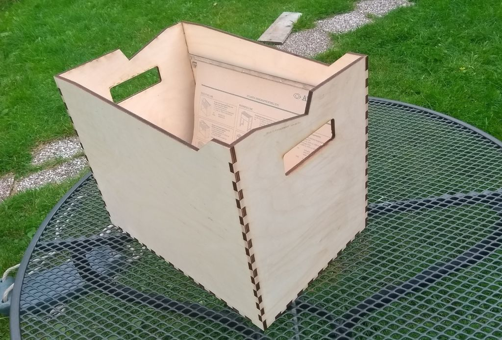 Picture of Wooden Crate (/box)