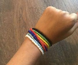 How to Make a Multi-color Wrap Bracelet
