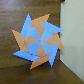 How To Make a Paper Double Ninja Star | 8- Eight Pointed ... | 320x320