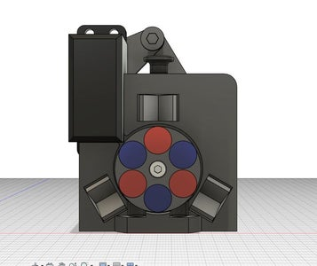 3D Printed Magnetic Toolchanger