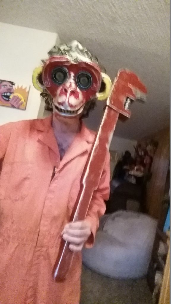 Picture of Monkey Wrench Giant Prop