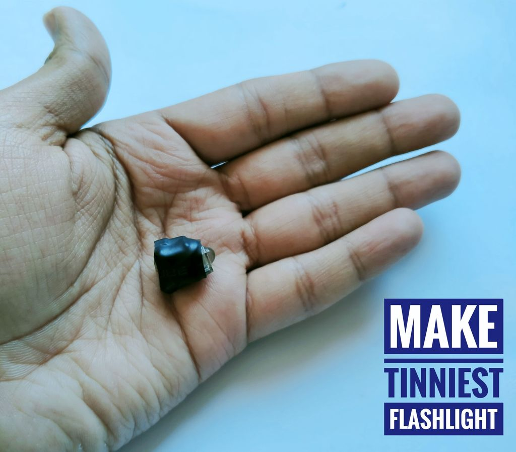 World Tinniest Rechargeable Flashlight (Ultrabright)