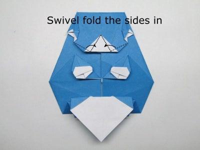 "Folding the ""A"""