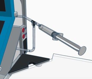 Watering Via Measuring Syringe and 3-Way Valve