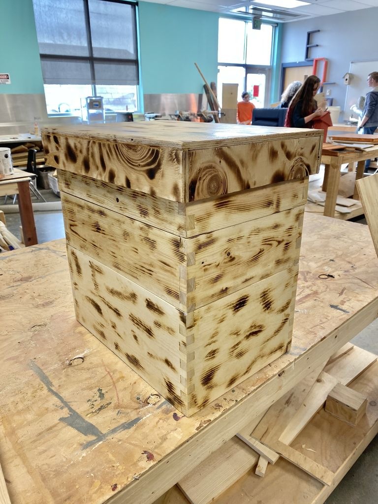 Picture of Step 18: Burning and Staining