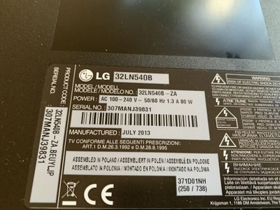 """LG 32"""" LED TV No Backlight Repair (Led Strip Replacement)"""