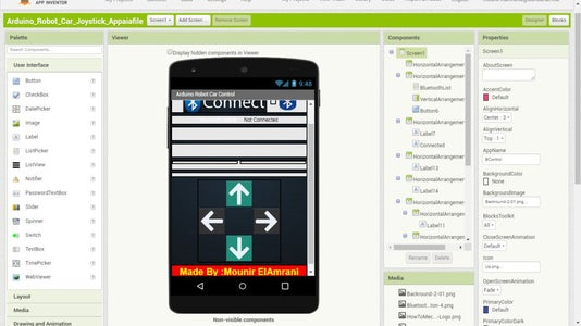Android Bluetooth Control Application :