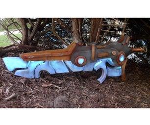 古代短剑从野性的塞尔达传说呼吸