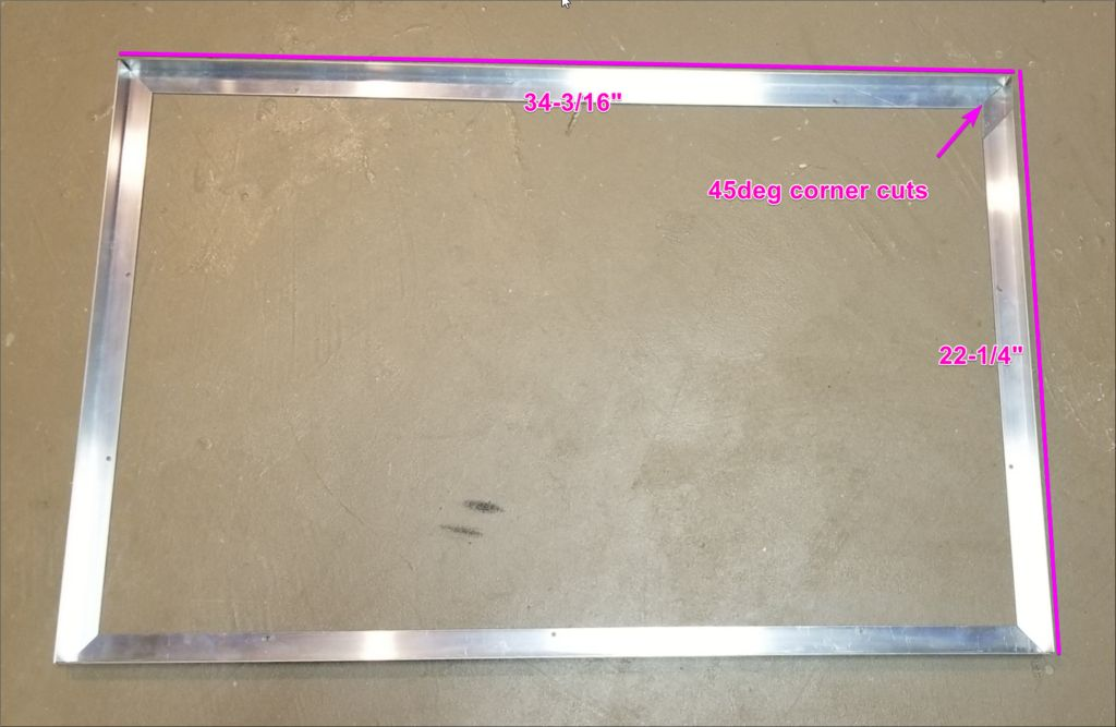 Picture of Part 3a - Cut the Base Metal Frame Parts