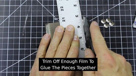 Apply the Semi-Transparent Film