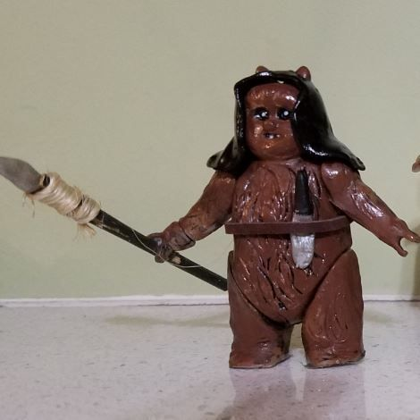 Picture of Ewoks With Moveable Arms and Legs