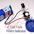 Full Tank Water Indicator Circuit Using D882 Transistor