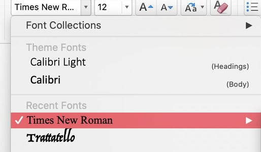 What Size Font? Single or Double Spaced?