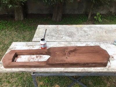 Paint, Let Dry, SAND!