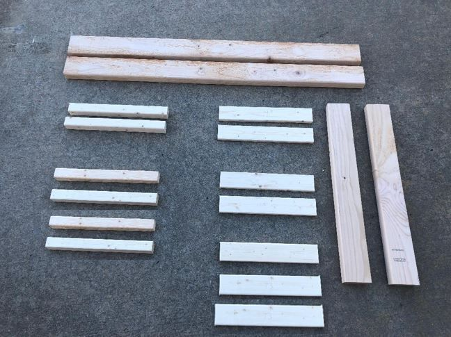 Picture of Cut Out the Following Pieces of Lumber: