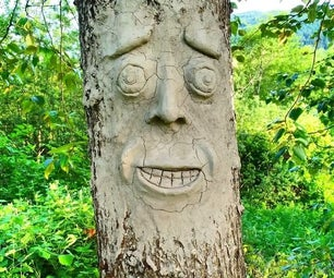 How to Make Faces on Your Trees in 4 Easy Steps