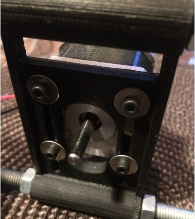 Picture of Mount the Y-axis Motor to the Back of the Eggbot