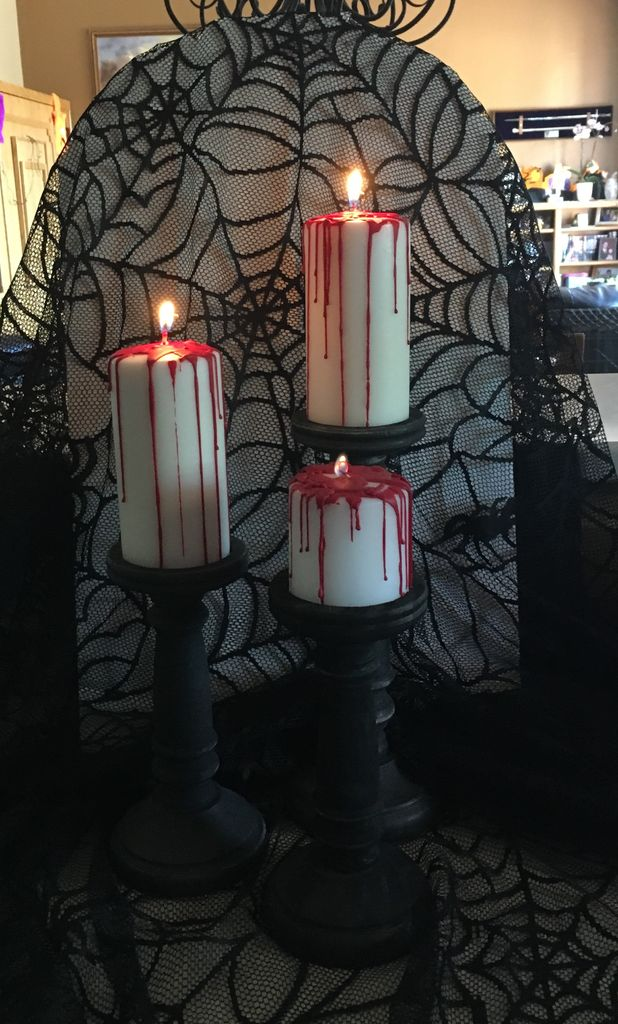 Picture of DIY Bloody Candles