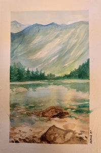 Simple Watercolour Landscape