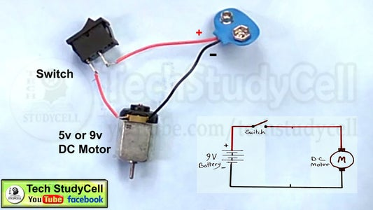 Connect the DC Motor