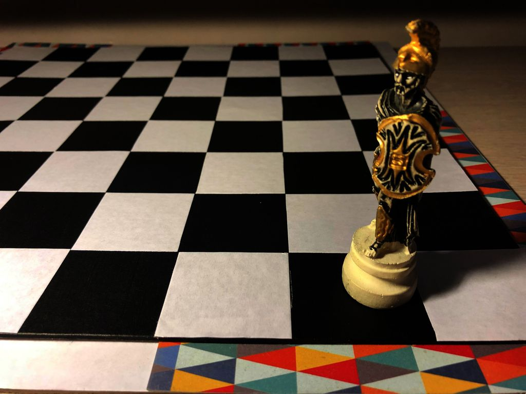 Picture of Chessboard Out of Cardboard!