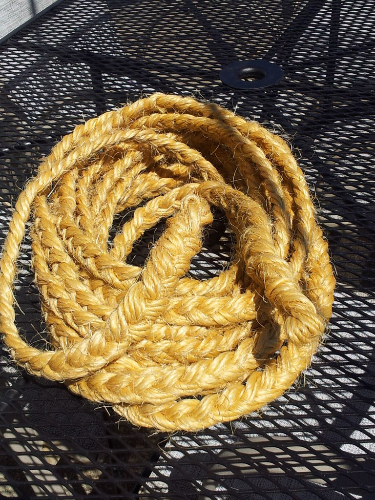 Picture of Rope From Bale Twine Waste