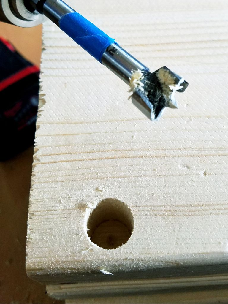 Picture of The Wood Working Portion - Part Two: Drilling Boards for Riveting!