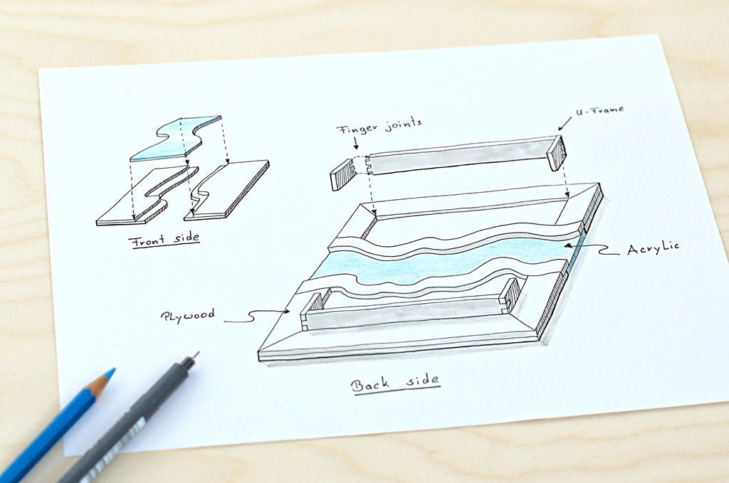 Picture of Designing the Frame and Distance Holder