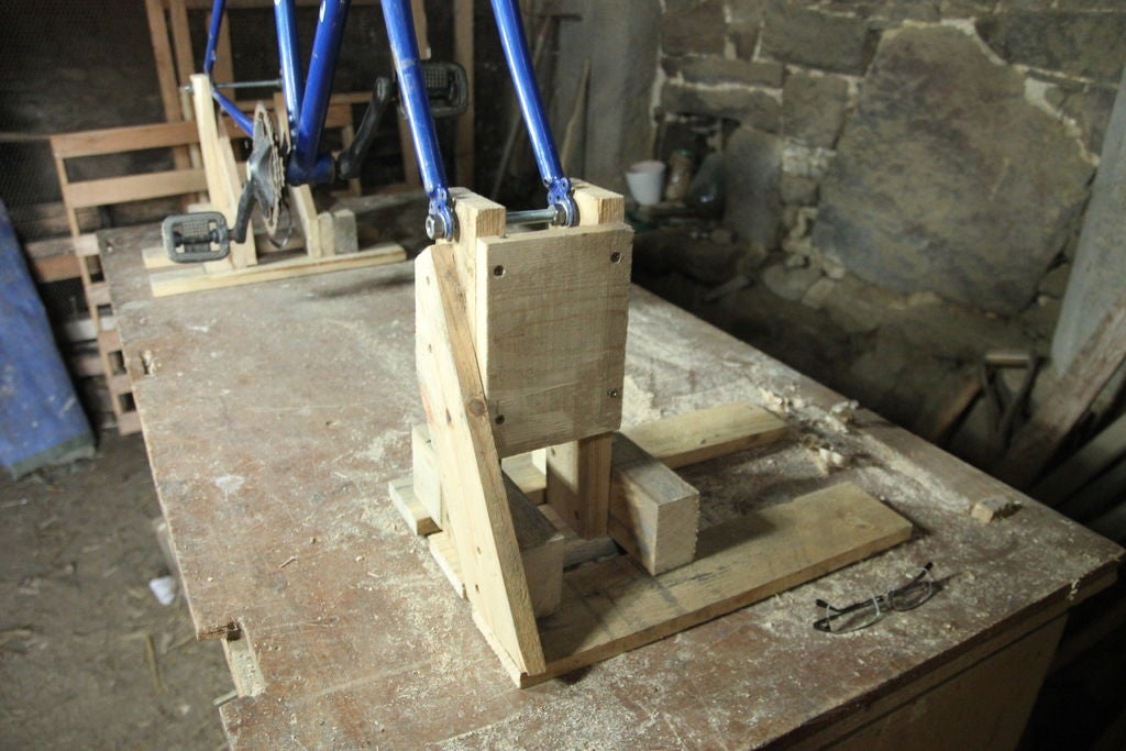 Picture of Making the Wooden Supports