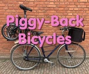 背驮式自行车