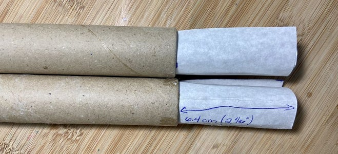 The Cardstock Tubes and the Paper Tubes