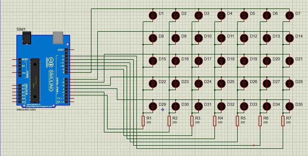 Picture of Circuit Diagram and Connections