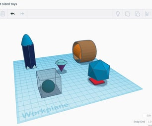5 Pocket Sized Toys for Little Kids (in Tinkercad)