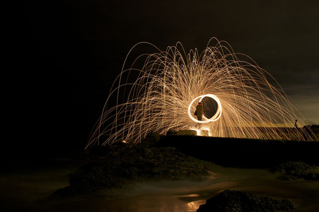 Picture of HOW TO:  STEEL WOOL PHOTOGRAPHY