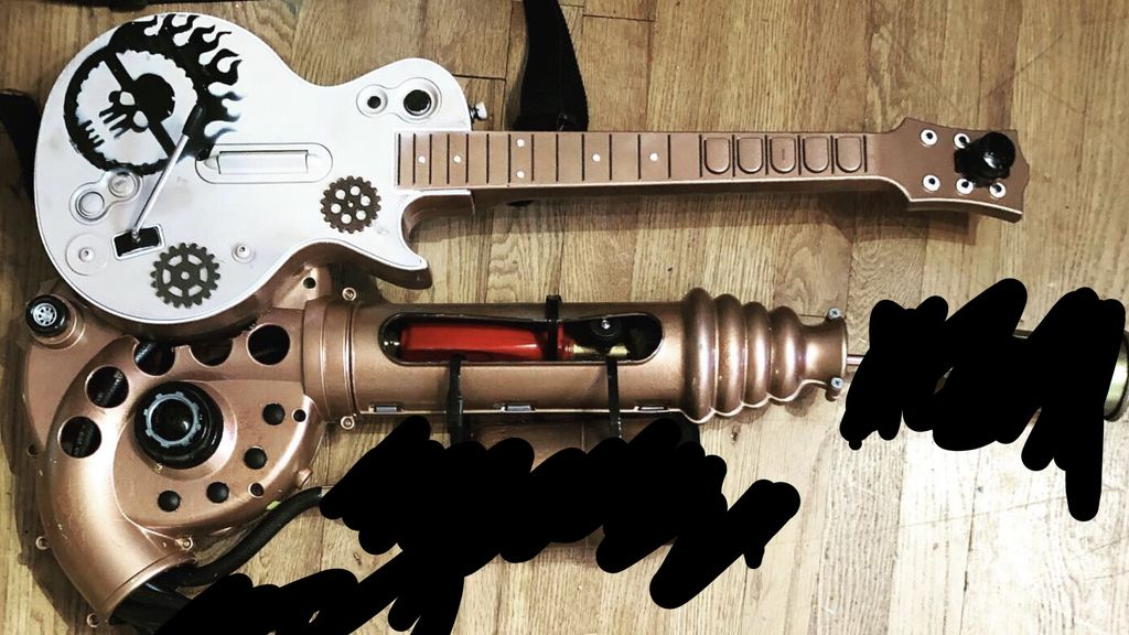 Picture of Doof Warrior Guitar