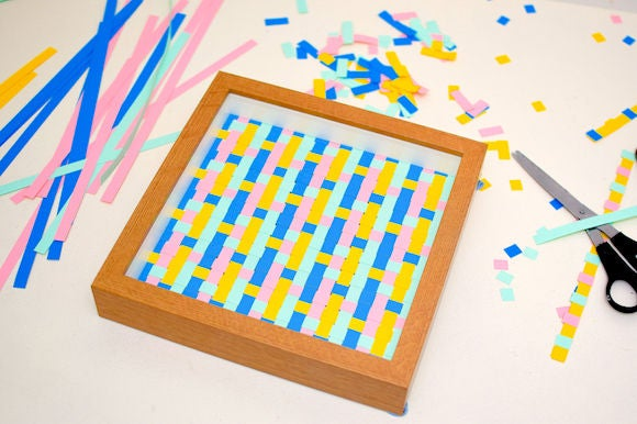 Picture of DIY Paper Weave Wall Art