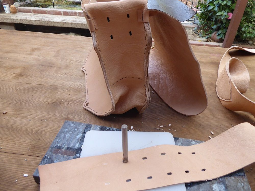 Picture of Adding the Strap and Ties