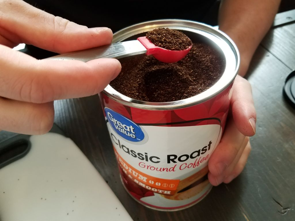 Picture of Add 1 Teaspoon of Coffee Grounds