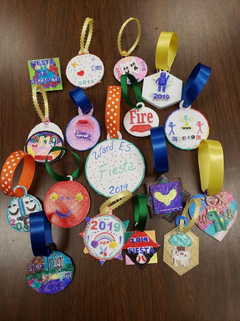 Picture of Fiesta San Antonio Medals (4th Grade)