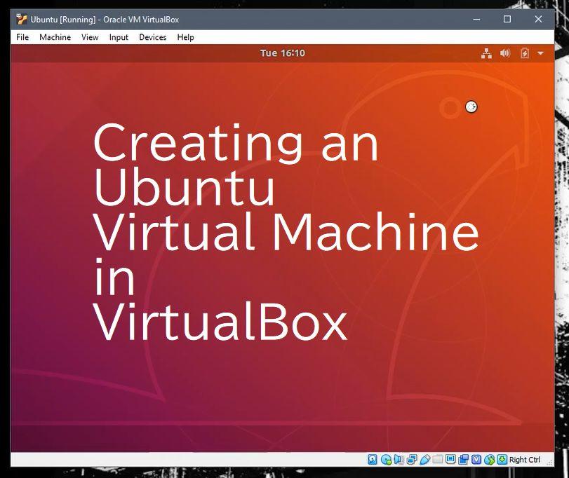 Picture of Virtualbox Virtual Machine