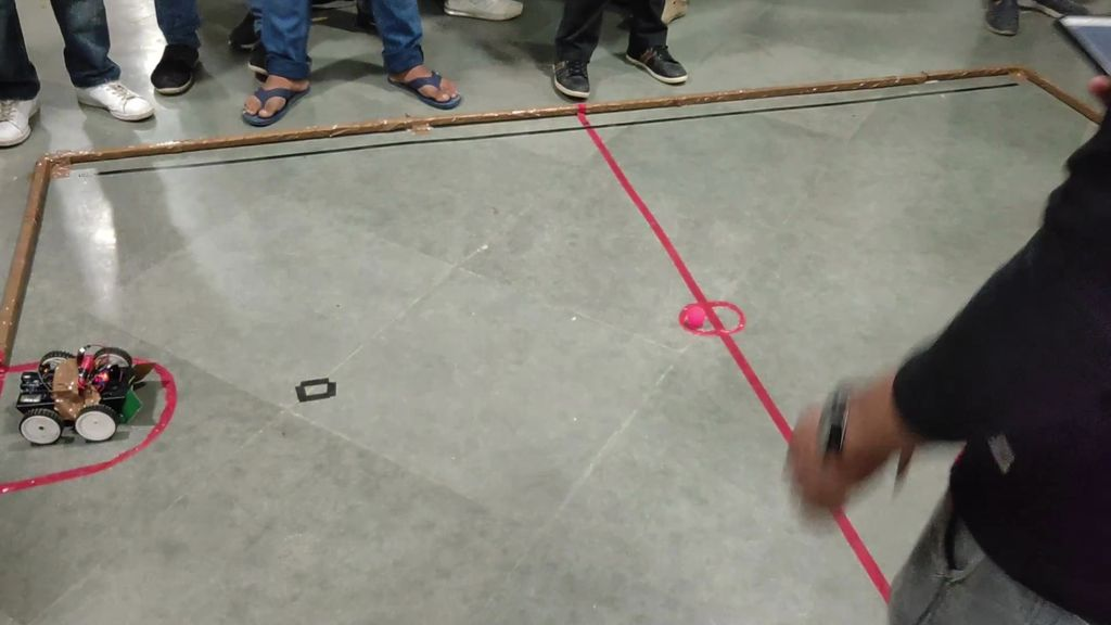 Picture of Bluetooth Controlled Bot for Robo Soccer