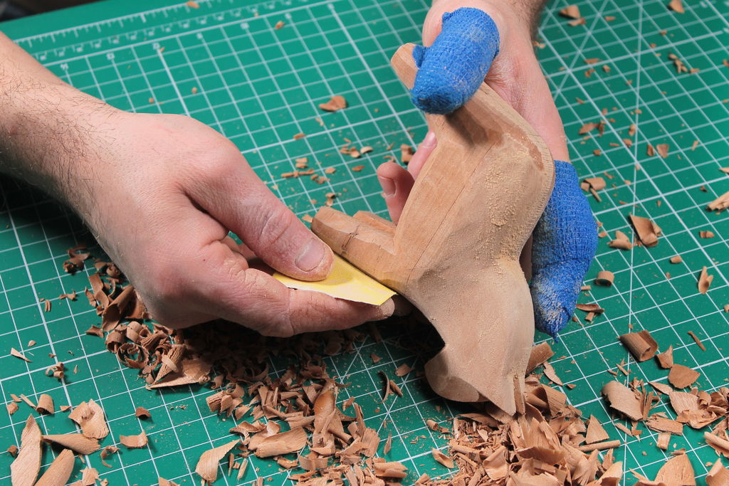 Picture of Sanding Phase