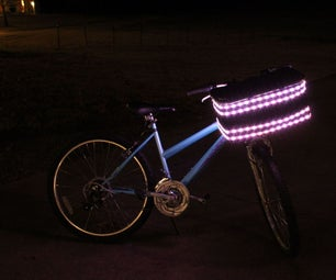 Light Up Bike Basket